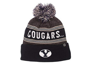 ZHATS NCAA Mens End Zone Knit NCAA Beanie