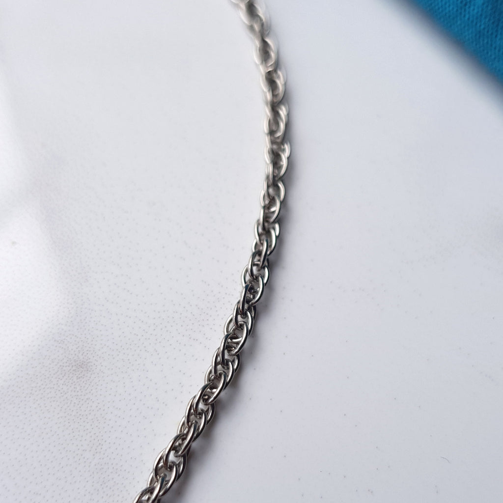 Titanium Chain - Intricate 2.4mm Chain Necklace