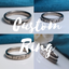 Titanium Ring - Custom Laser Engaved