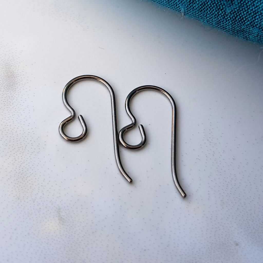 Titanium Ear Wire Findings