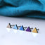 Titanium everyday triangle studs Hypoallergenic