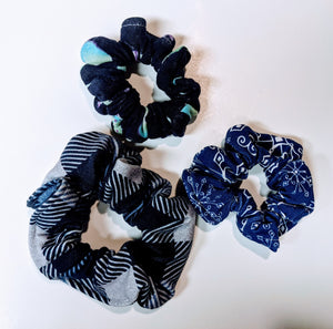 Got the Blues Scrunchies
