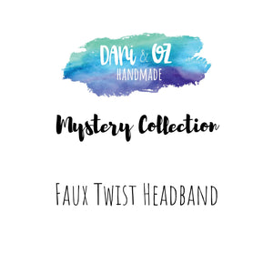 Mystery Collection - Faux Twist Headband