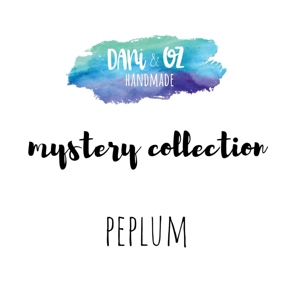 Mystery Collection - Bloom Peplum Top