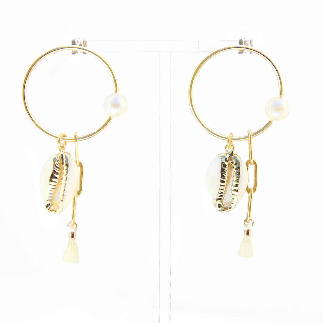 Penelope Earrings - Gold Plated