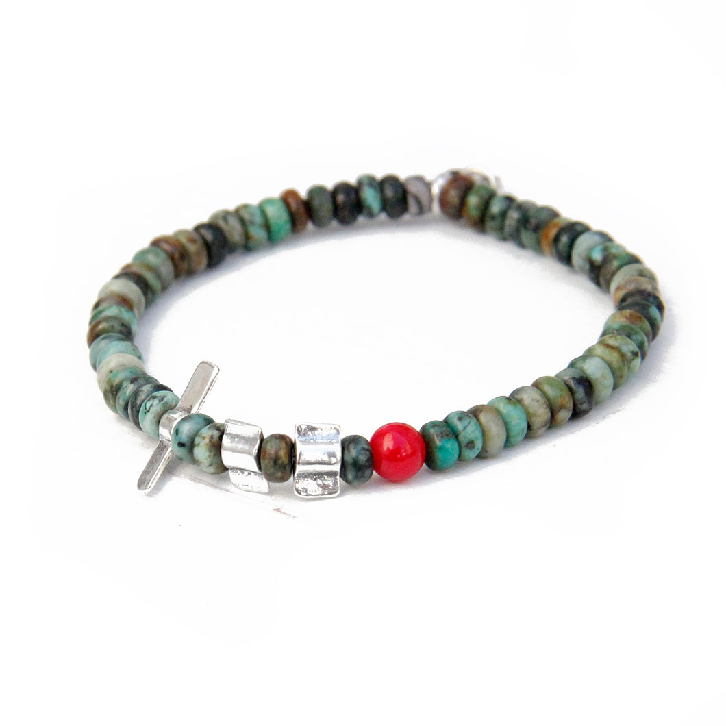 Janis Bracelet - Turquoise & Sterling Silver
