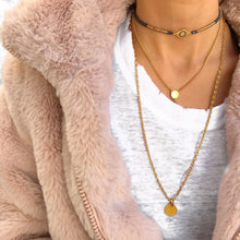 Classic Gold Necklaces Stack