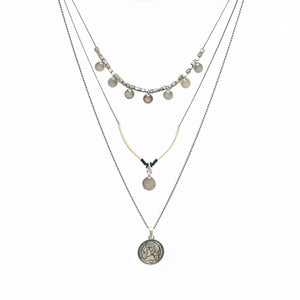 Julius Necklace - Silver Plated