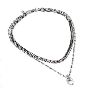 Norah Necklace - Silver Plated