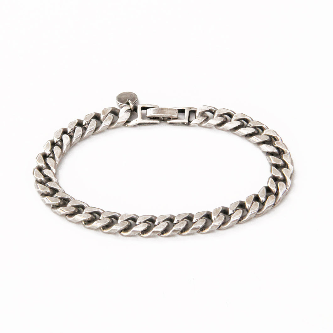Classic Link Chain Bracelet - Silver Plated