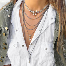 Classic Silver Necklaces Stack
