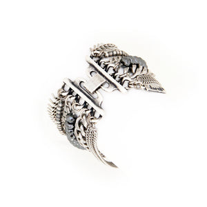 Eagle Wings Bracelet - Silver Plated