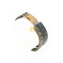 Hematite Arrows Bracelet - Silver & Frosted Gold