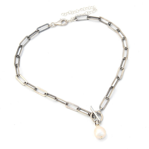 Aphrodite Choker Necklace - Sterling Silver