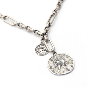 Roma Necklace - Silver