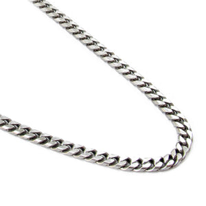 Classic Link Chain Necklace - Men - Silver Plated