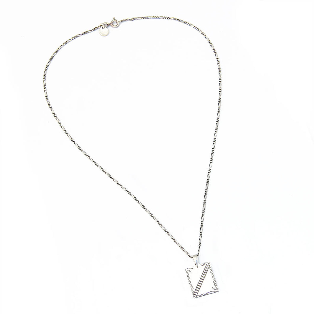 Clio Necklace - Men - Sterling Silver