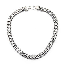 Thick Link Chain Necklace - Sterling Silver