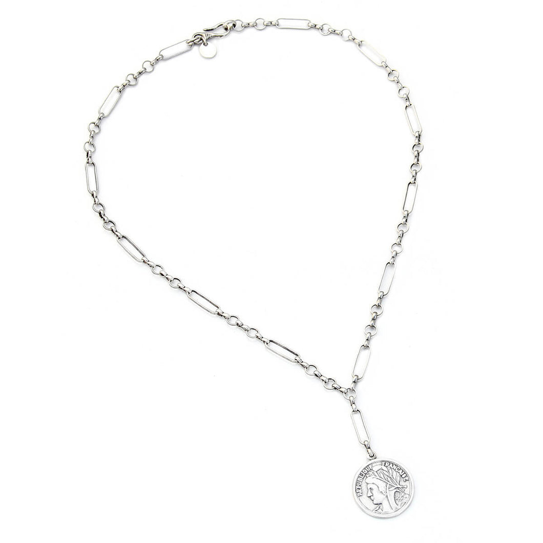 Victoria Necklace - Silver