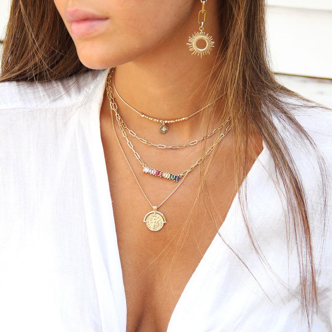 Aura Necklaces Stack