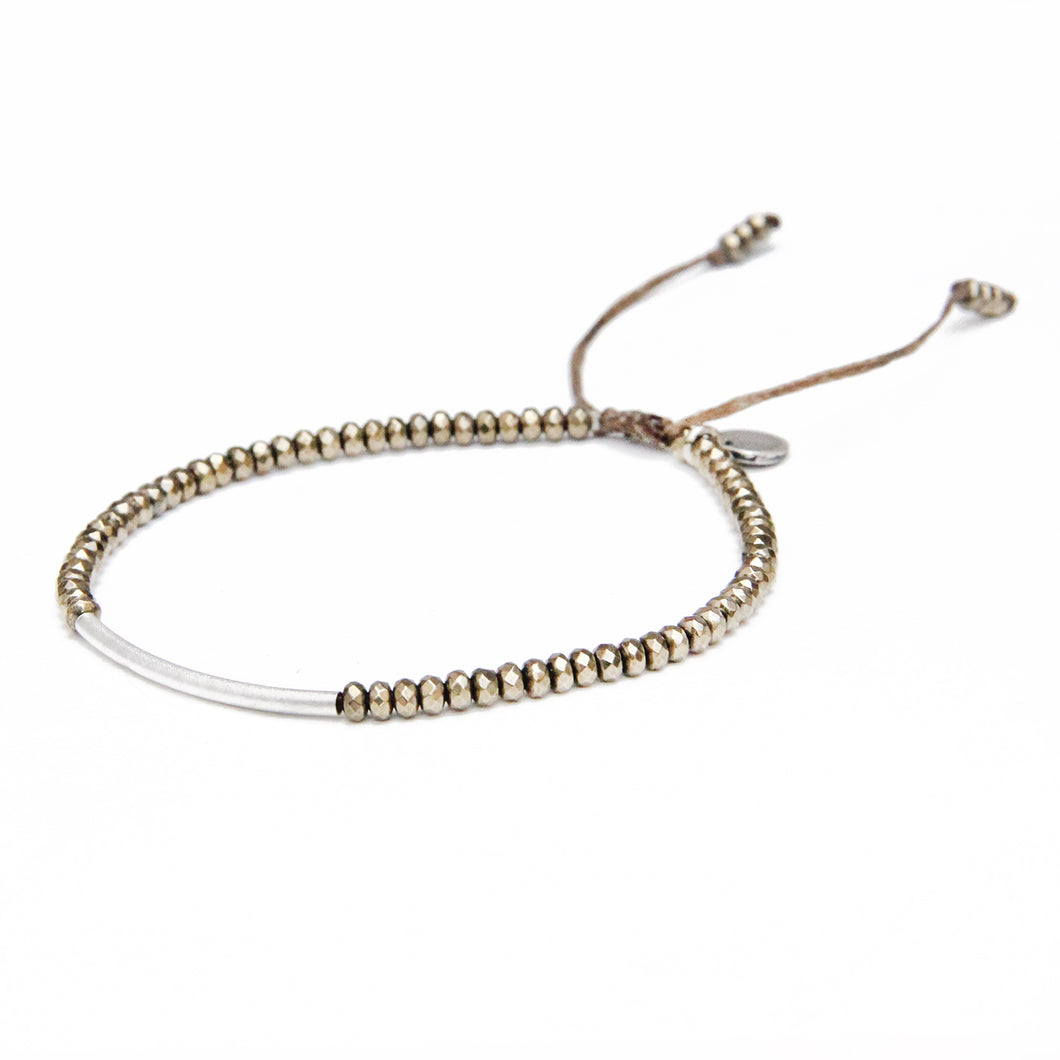 Kelly Bracelet - Silver Plated