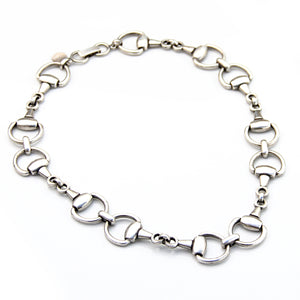 Hoofs Necklace - Silver Plated