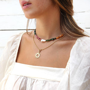 Sun Necklaces Stack