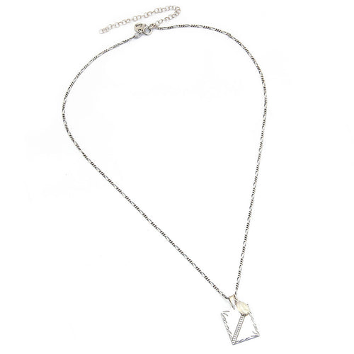 Clio Pearl Necklace - Sterling Silver