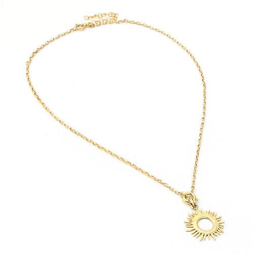 Helios Necklace - Gold Plated