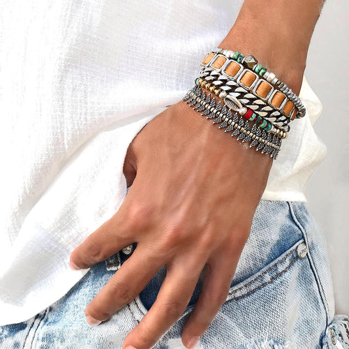 Tropical Island Bracelets Stack