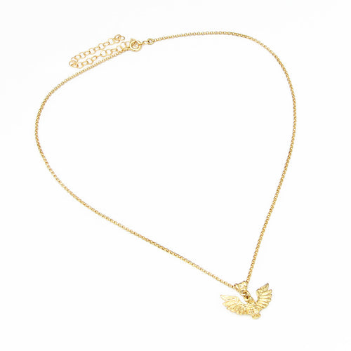 Artemis Necklace - Sterling Silver, Gold Plated