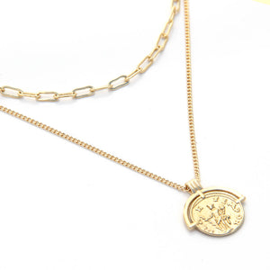 Nemesis Necklace - Gold Plated