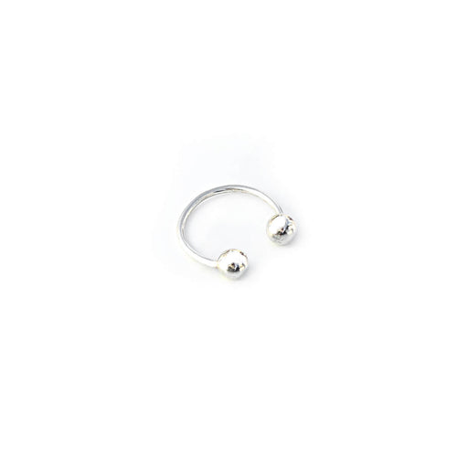 Piercing Ring - Sterling Silver