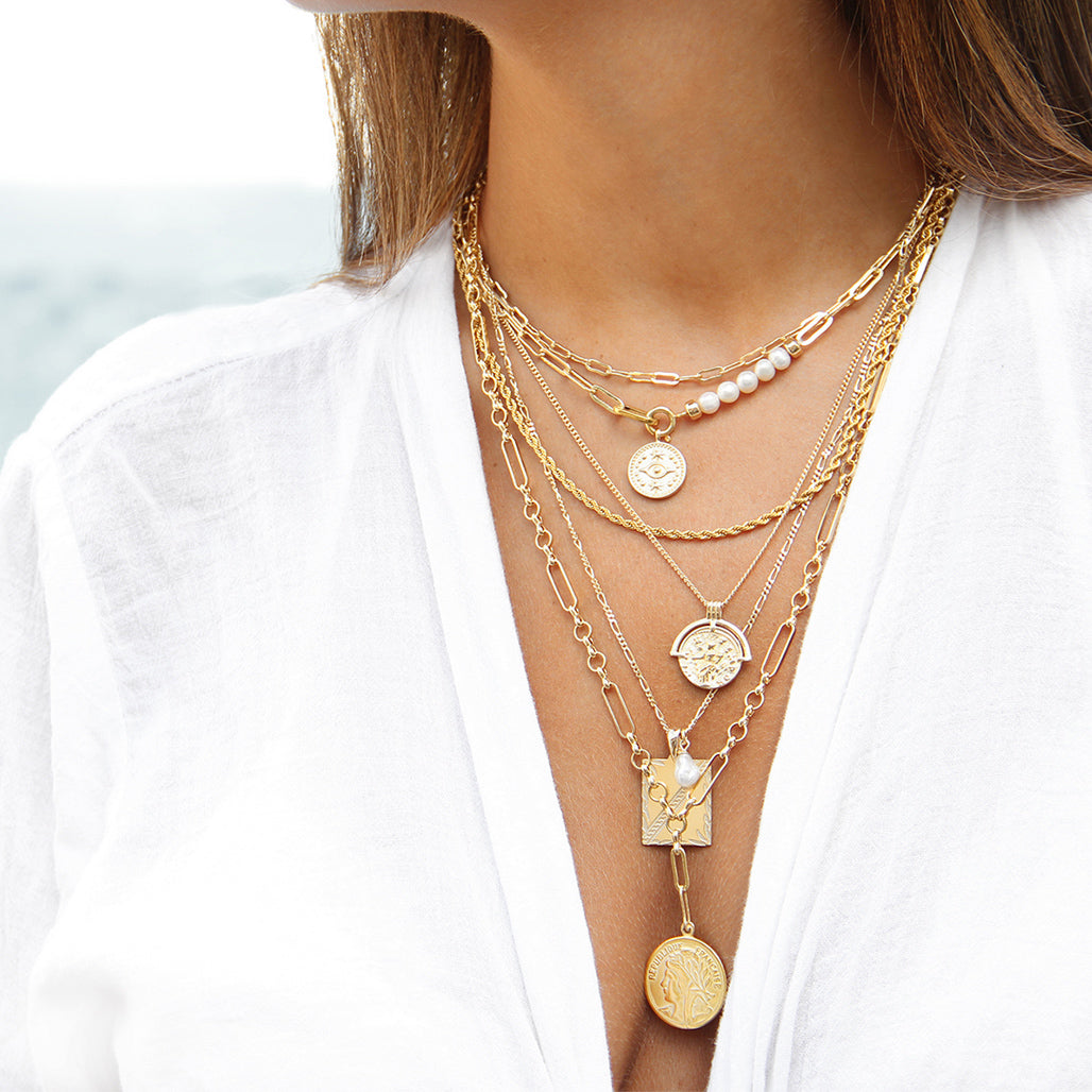 Arcadia Necklaces Stack