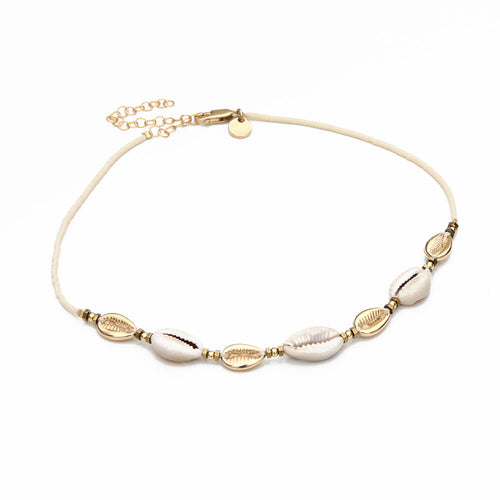 Maui Choker Necklace - Gold Plated