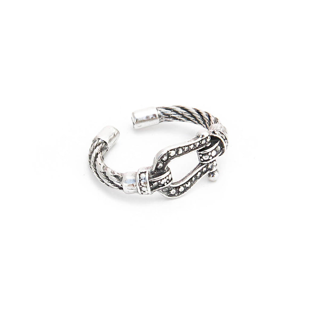 Buckle Ring - Sterling Silver