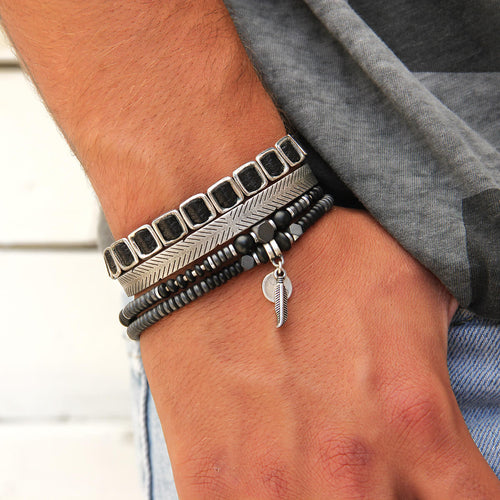 Bradley Bracelets Stack - Men
