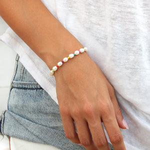 Perlinim Bracelet - Pearls & Sterling Silver
