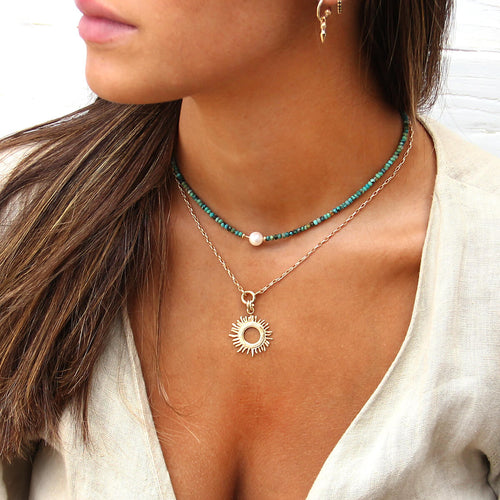 Tethys Necklaces Stack