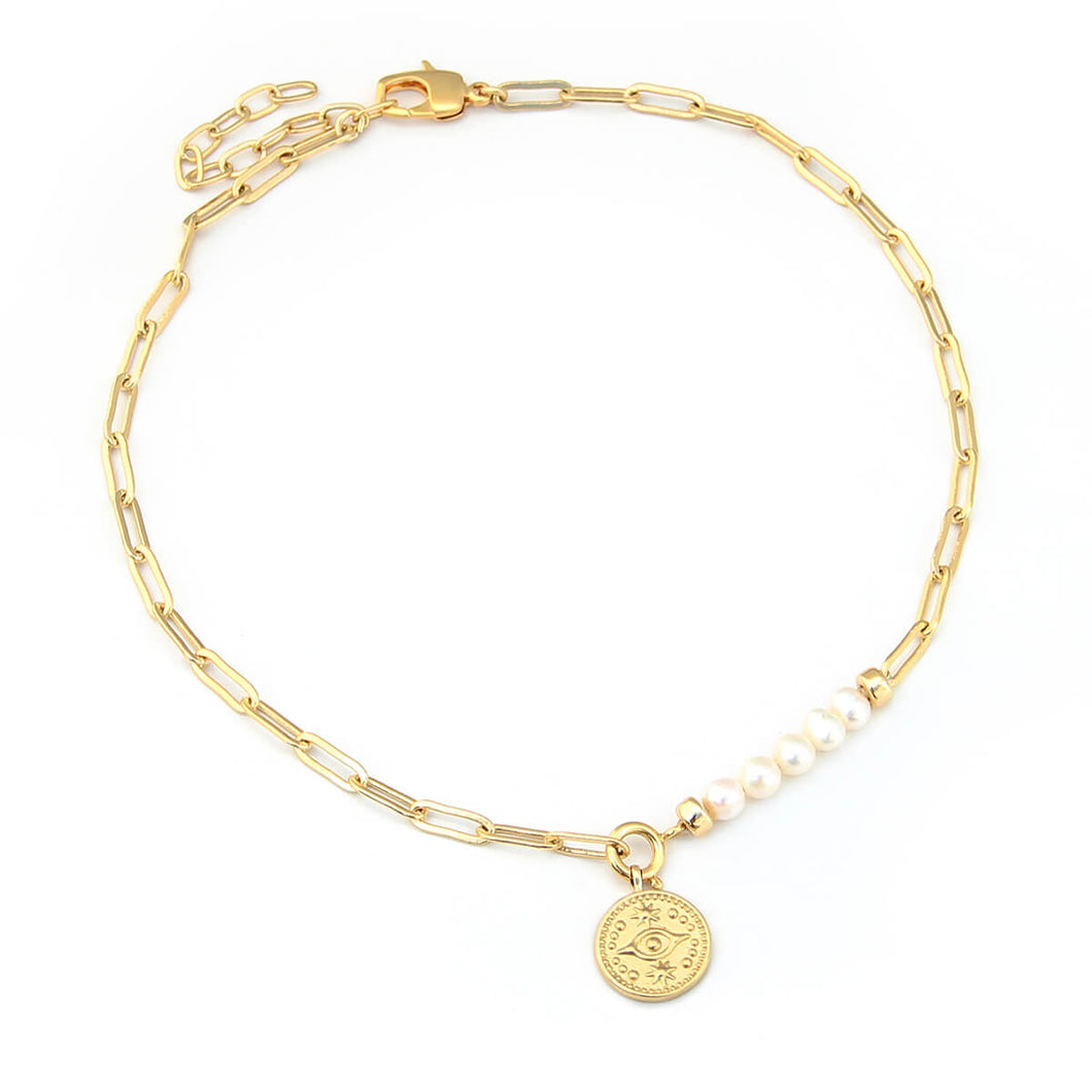 Aurora Necklace - Gold Plated