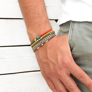 Adam Bracelets Stack - Men