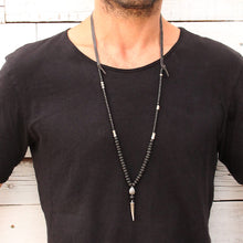 Dylan Necklace - Men - Silver Plated
