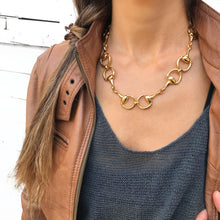 Hoofs Necklace - Gold Plated