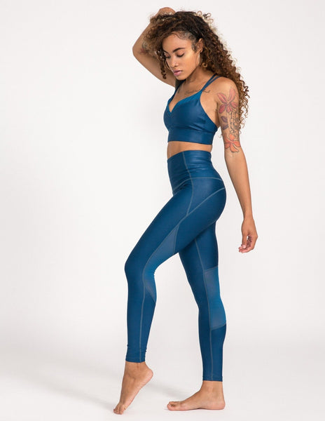 Alchemy High Waist Legging - Poseidon - Leggings