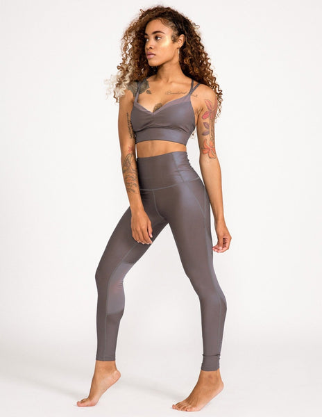 Alchemy High Waist Legging - Wolf - Leggings