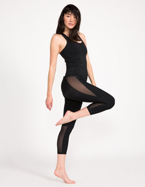 Kali 3/4 Legging - Obsidian - Leggings