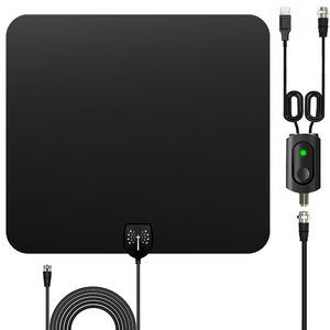 Cordless Magic™ - 2021 Edition HDTV Amplified Indoor Antenna - 120+ Mile Range