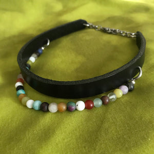 CIRCE Neck Cuff with mixed beads