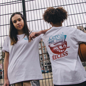 Cereal & Chill x RECESS Mascot Tee