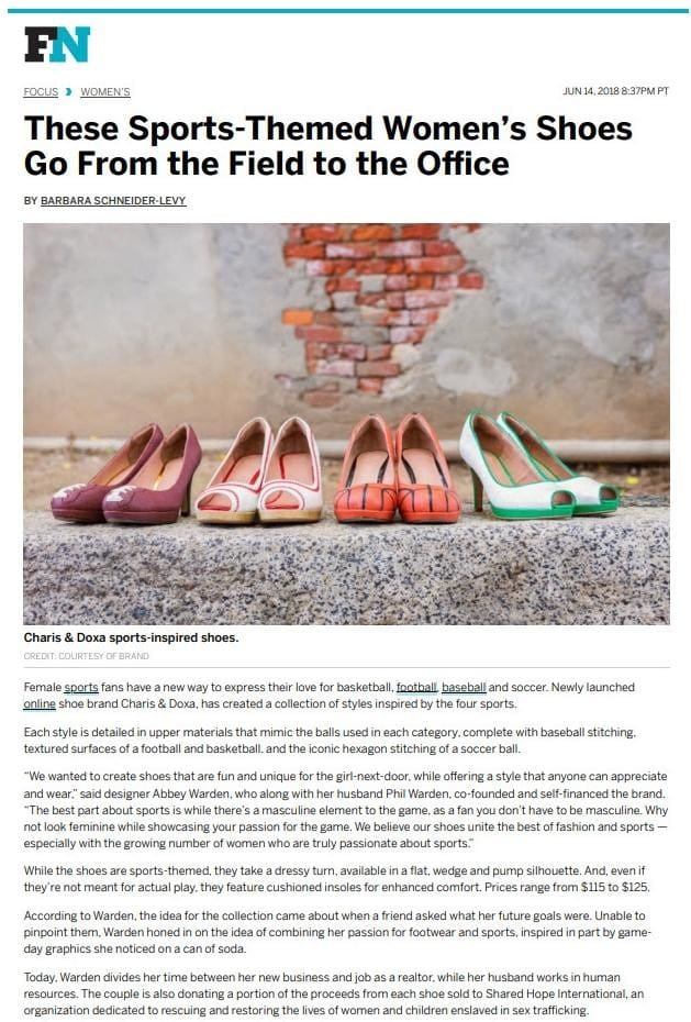 Footwear News Article